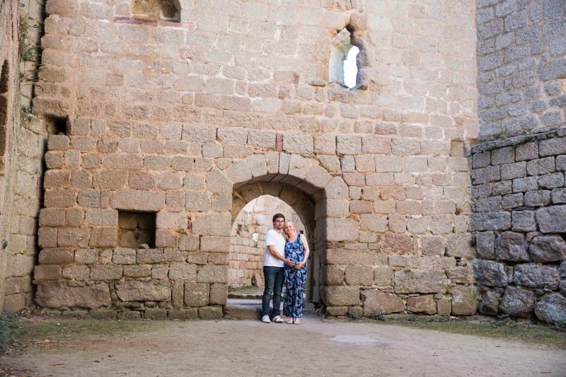 séance grossesse château