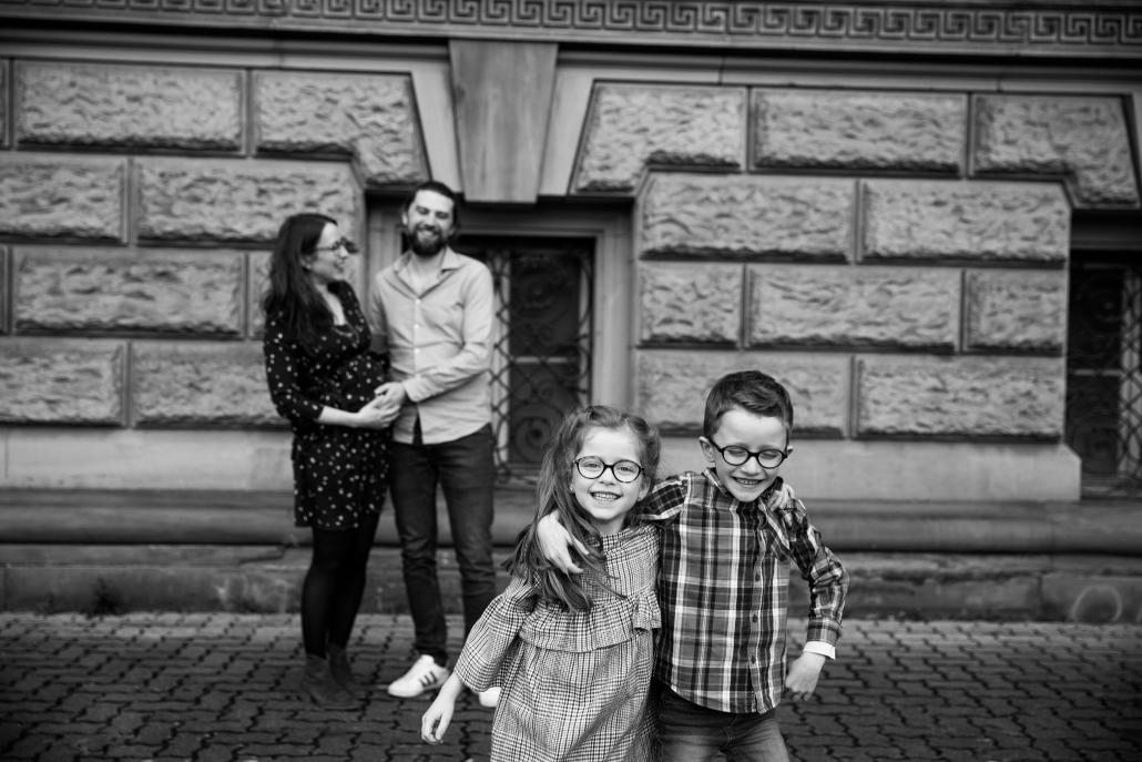Séance famille et grossesse en Alsace