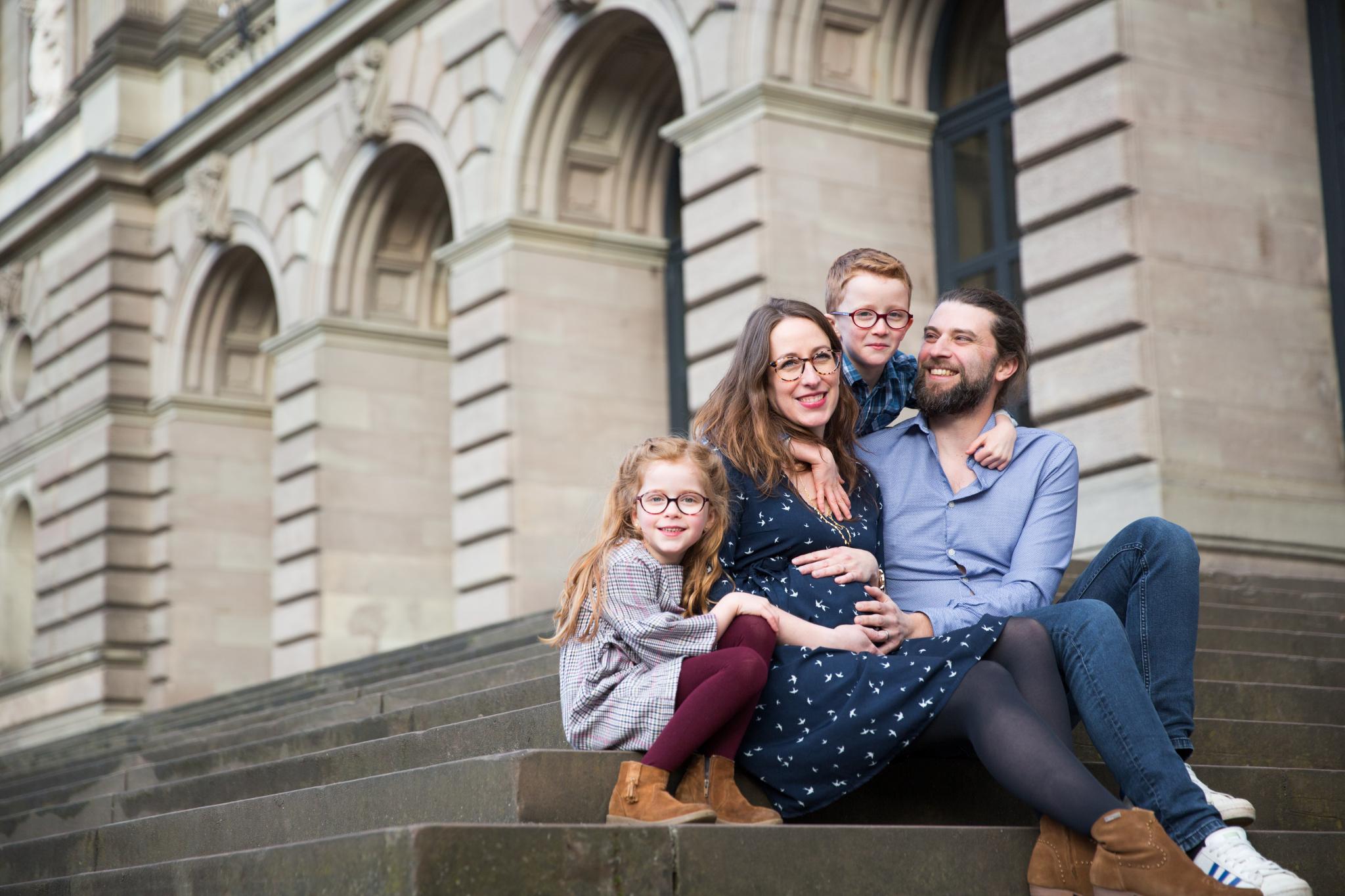 Séance famille en Alsace